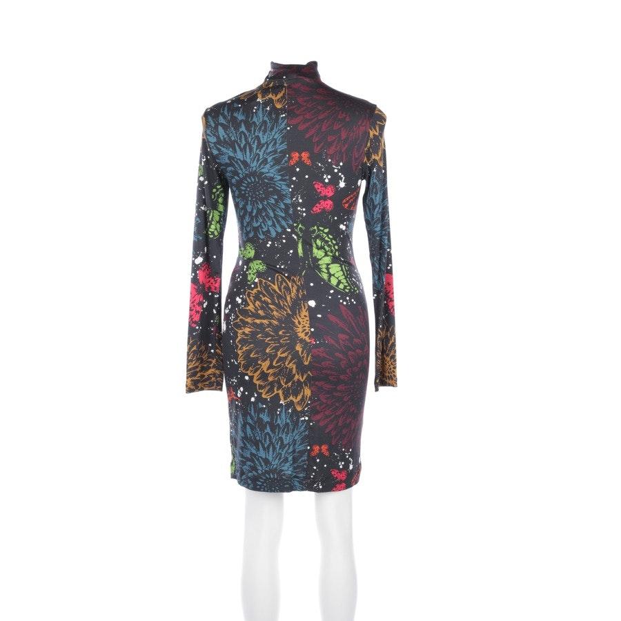 Kleid von Richmond 'X' in Schwarz und Mehrfarbig Gr. 34 IT 40