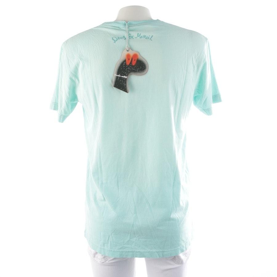 T-Shirt von Deus Ex Machina in Mintgrün und Mehrfarbig Gr. M
