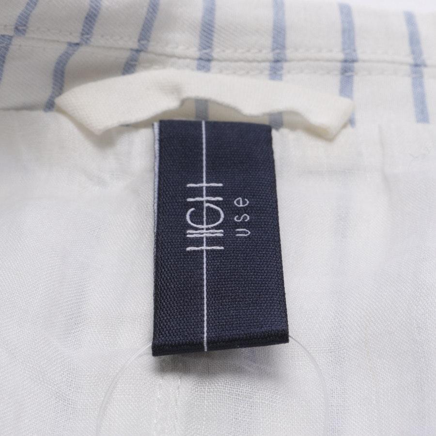 Blazer von High Use in Hellblau und Weiß Gr. 34