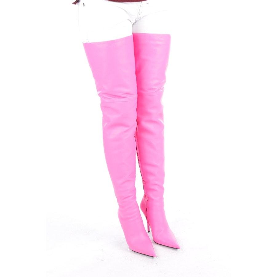 Overknees von Balenciaga in Pink Gr. EUR 39,5 Neu