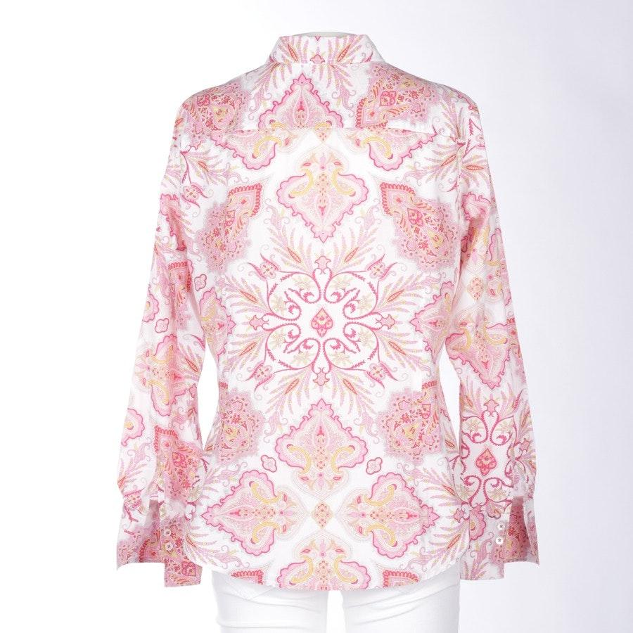 Shirt Blouse von Marc O'Polo in Rosa und Weiß Gr. 40