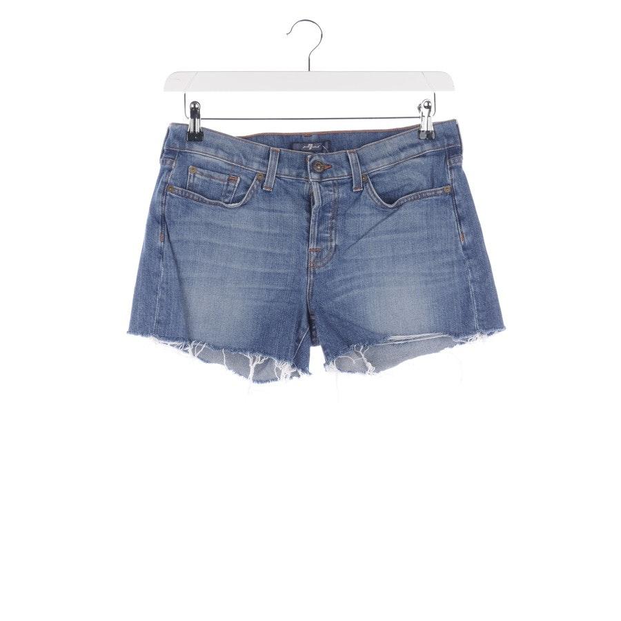 Shorts von 7 for all mankind in Blau Gr. W27
