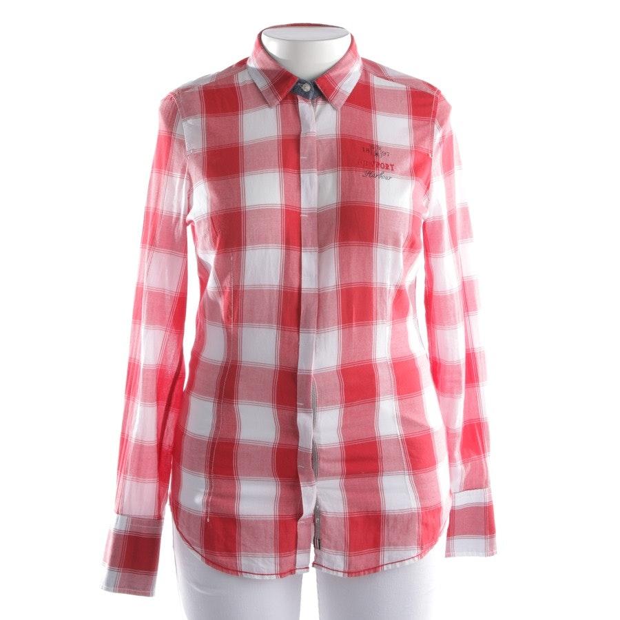 Bluse von Gaastra in Rot und Weiß Gr. L