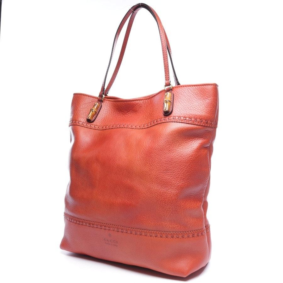 shoulder bag from Gucci in orange - laidback crafty tote bag