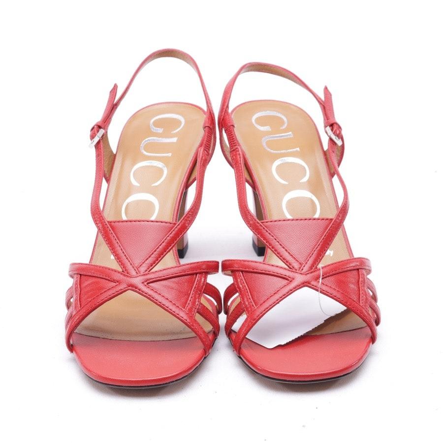 Sandaletten von Gucci in Rot Gr. 36 EUR New