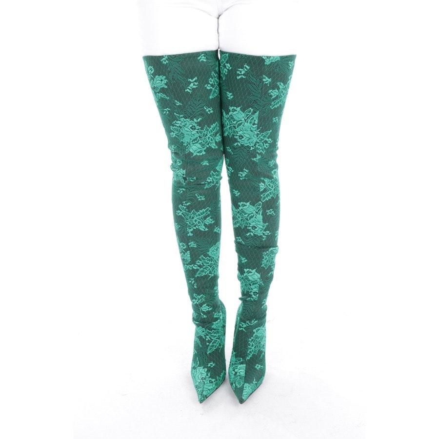 Overknees von Balenciaga in Smaragdgrün Gr. EUR 40 - Neu