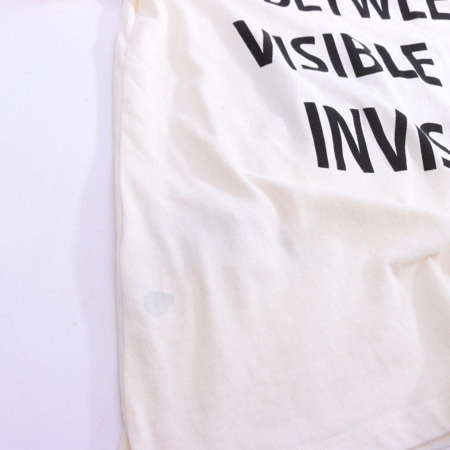T-Shirt von Gucci in Creme und Schwarz Gr. 2XL