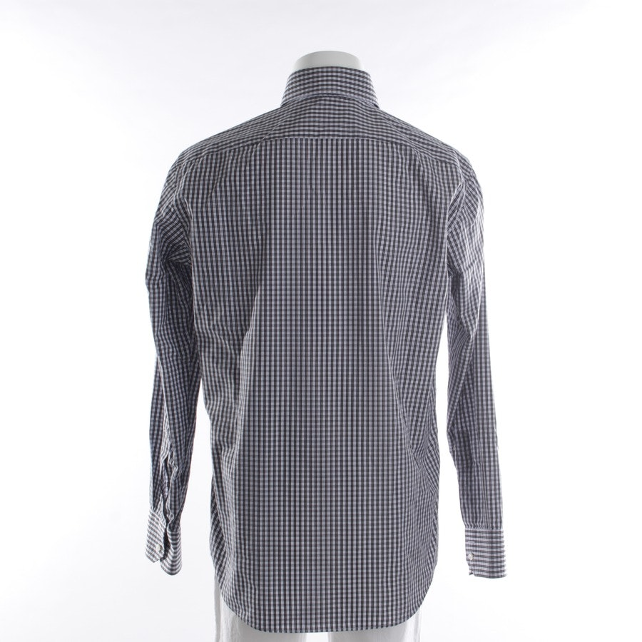 business shirt from Hugo Boss Black Label in black and white size 41-42
