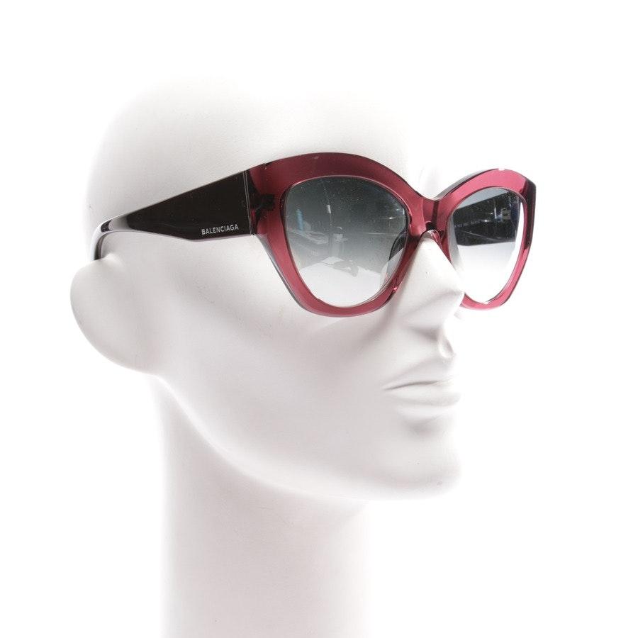 Sonnenbrille von Balenciaga in Rosa und Borde BA 103 69C