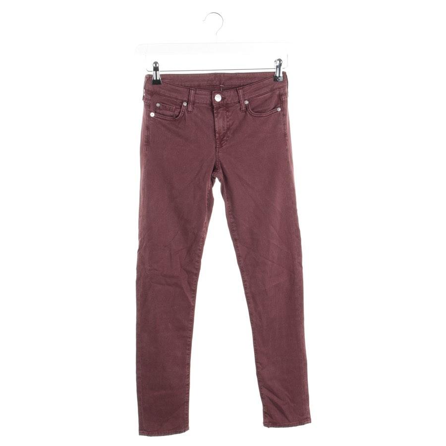 Jeans von 7 for all mankind in Aubergine Gr. W25