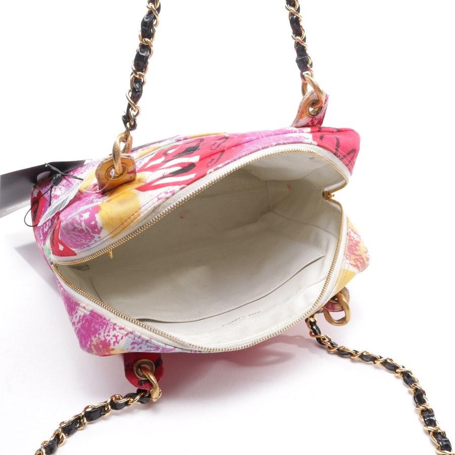 shoulder / messenger bag from Chanel in Multicolored