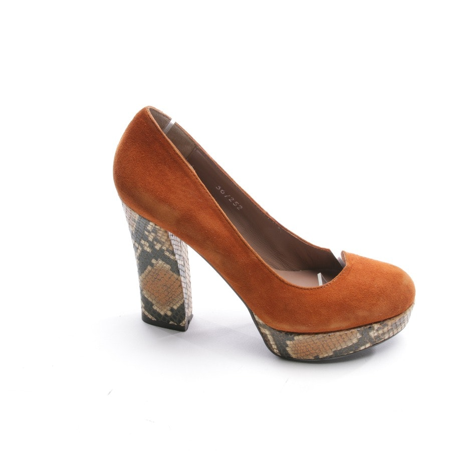 pumps from Bruno Premi in orange size D 36