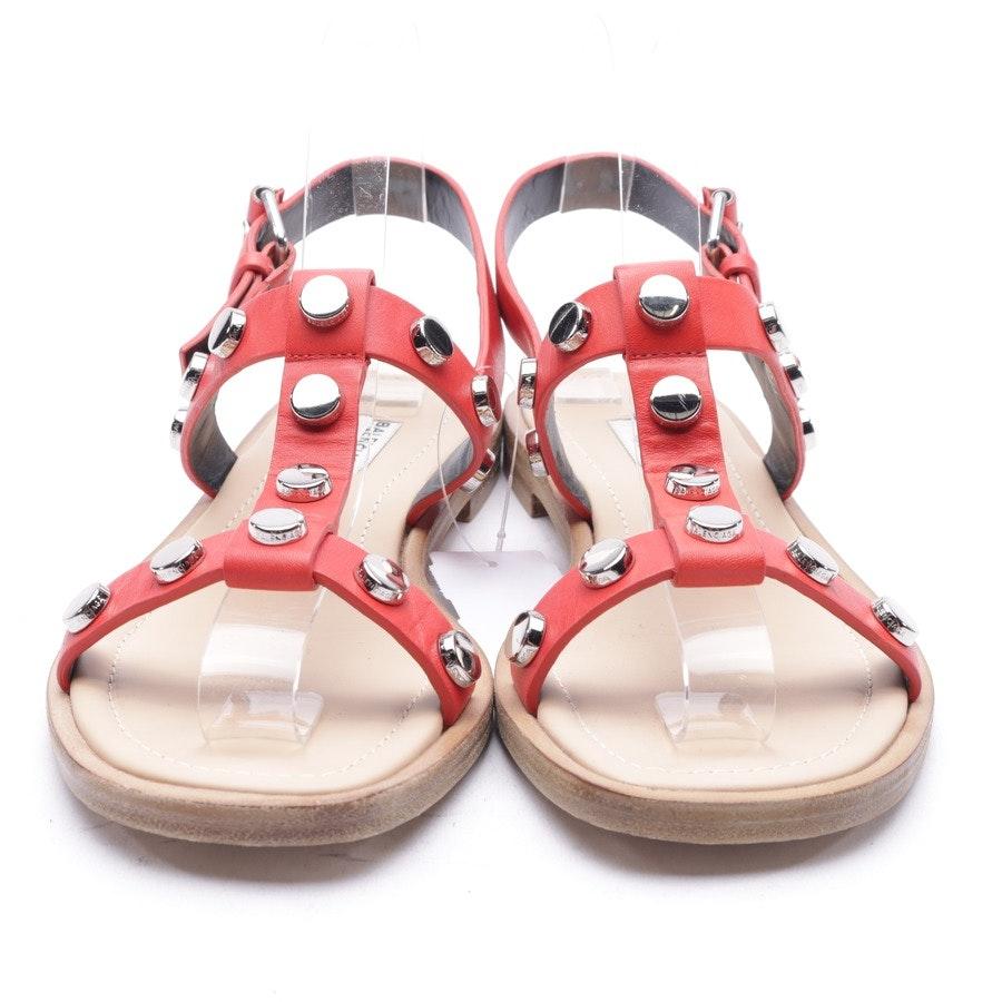 Sandalen von Balenciaga in Rot und Rot Gr. 37,5 EUR