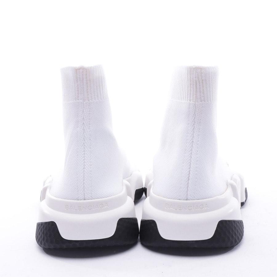 High-Top Sneaker von Balenciaga in Weiß und Schwarz Gr. EUR 36 Speed Trainer Neu