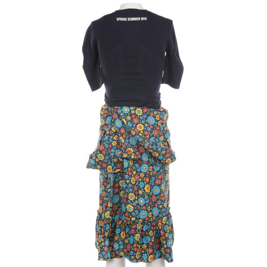 Kleid von Balenciaga in Mehrfarbig Gr. 34 FR 40