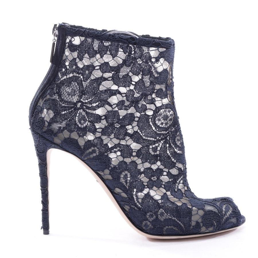 Stiefeletten von Dolce & Gabbana in Dunkelblau Gr. 39 EUR Neu