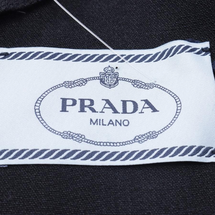 Cocktailkleid von Prada in Schwarz und Mehrfarbig Gr. L