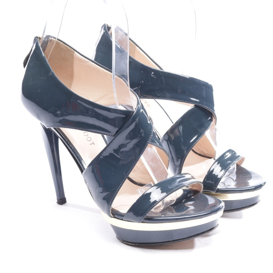 heeled sandals from Navyboot in petrol size D 36