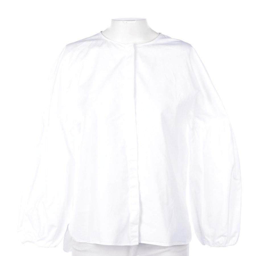 Blusenshirt von Massimo Dutti in Weiß Gr. 40