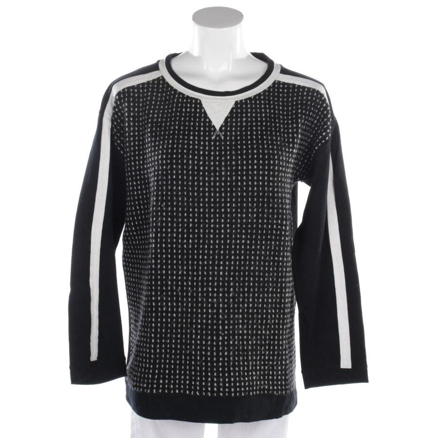 Sweatshirt von Marc Cain Sports in Schwarz und Weiß Gr. L
