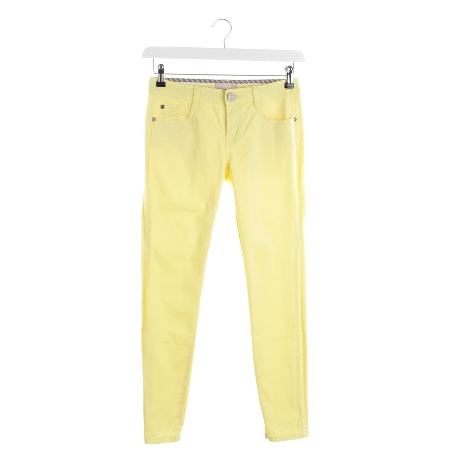 trousers from Stefanel in sun-yellow size 34
