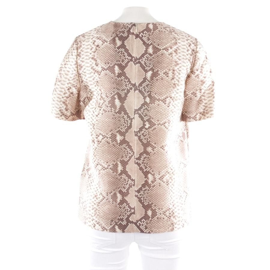 Shirt von Tory Burch in Beige und Braun Gr. 34 US 4 - Neu