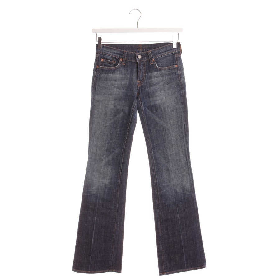 jeans from 7 for all mankind in dark blue size W26
