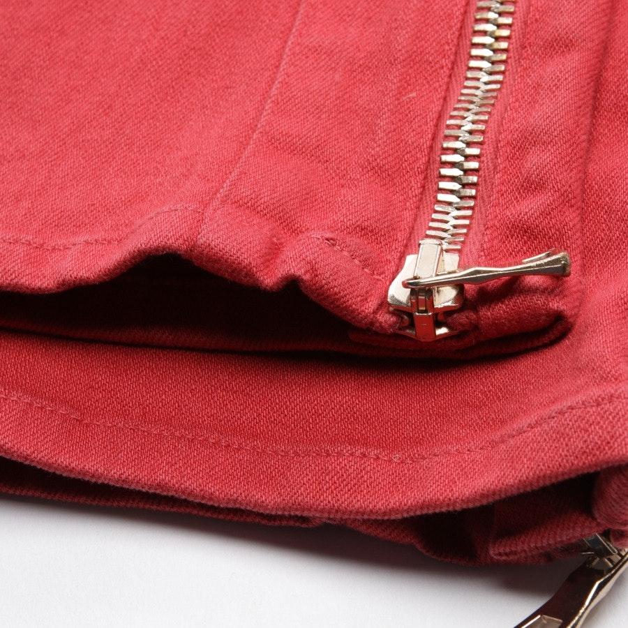 Jeans von Balmain in Rot Gr. 34 FR 36