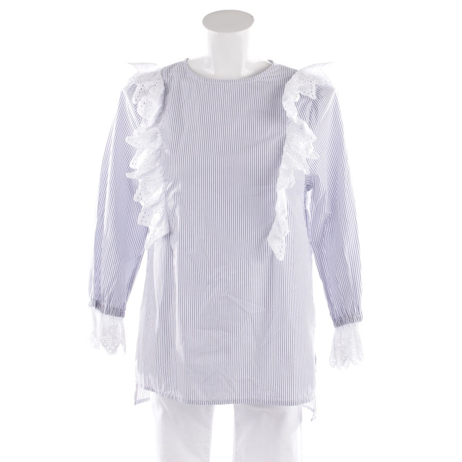 blouses & tunics from Essentiel Antwerp in white and blue size 36