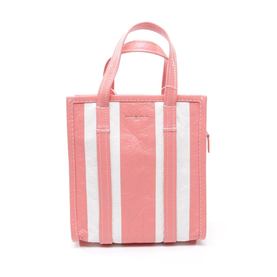 Handbag from Balenciaga in Coral and White New