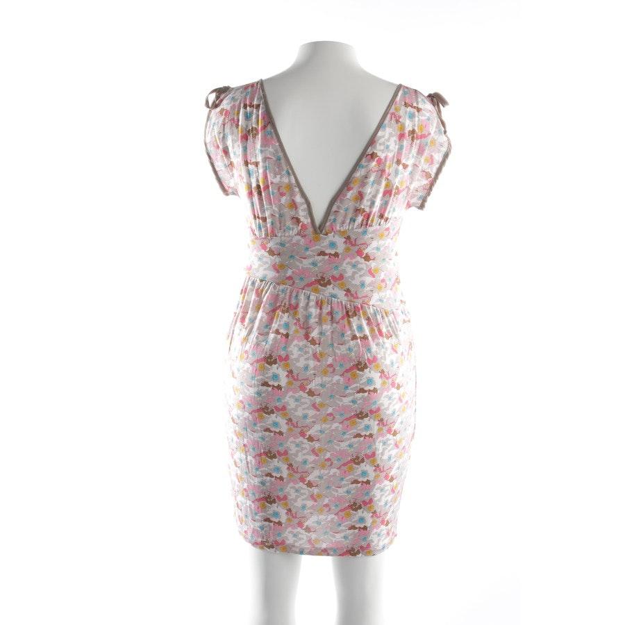 Sommerkleid von Twin Set in Taupe und Multicolor Gr. L