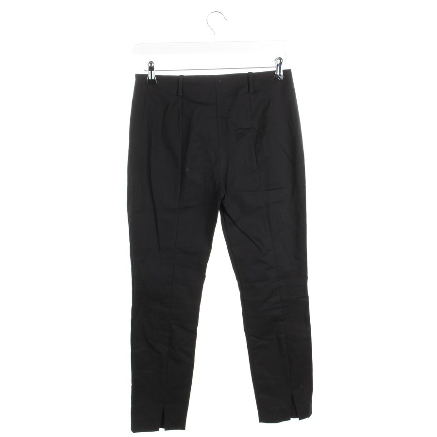 trousers from Marc O'Polo Pure in black size 36