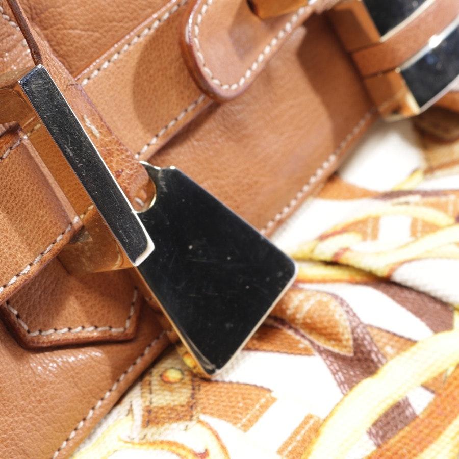 Handtasche von Ballin in Cognac und Mehrfarbig