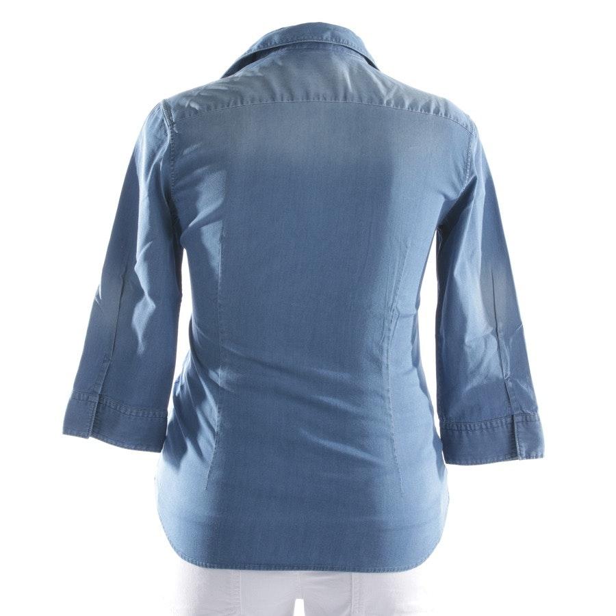Bluse von Caliban in Mittelblau Gr. 40 IT 46
