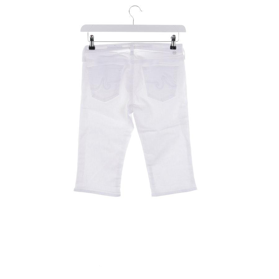 Bermuda von AG Jeans in Weiß Gr. W27 - Malibu