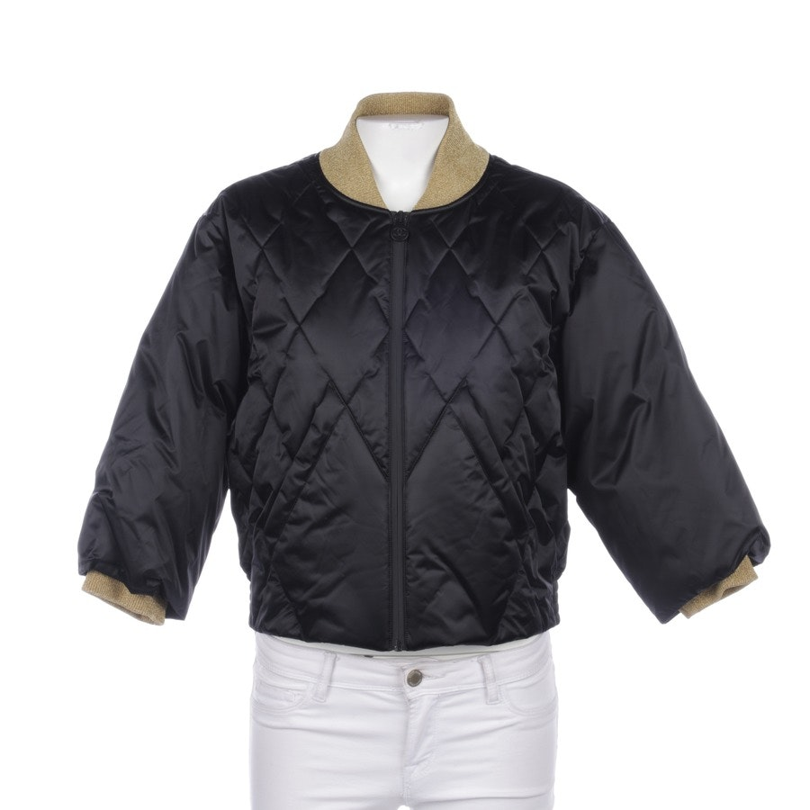 Between-Seasons Jacket from Chanel in Black size 38 FR 40 New
