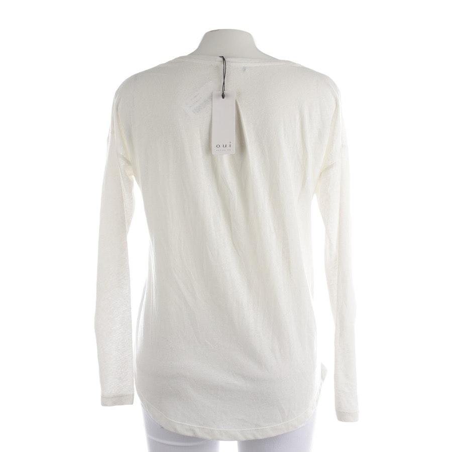 Shirt von Oui in Offwhite Gr. 36 - Neu