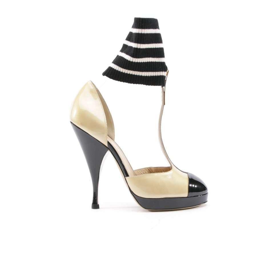 High Heels from Chanel in Gold and Black size 37,5 EUR
