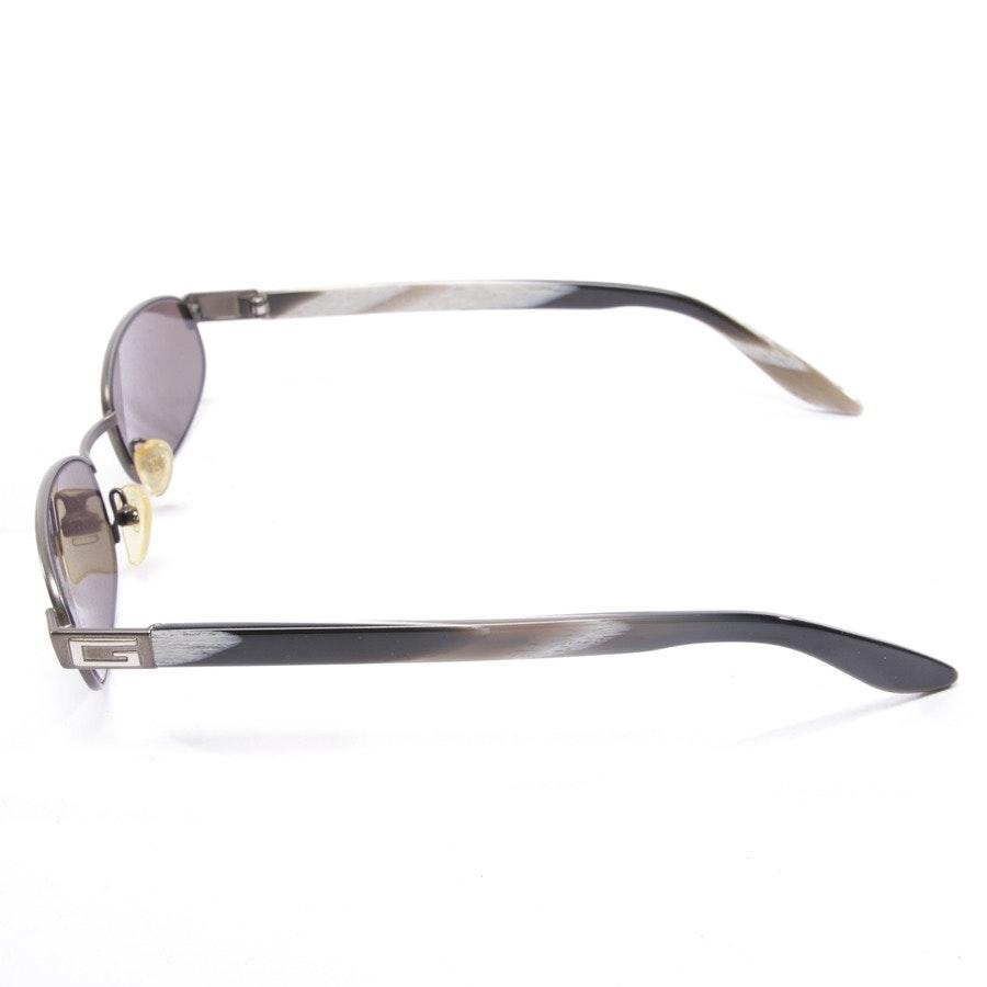 Sonnenbrille von Gucci in Schwarz und Weiß