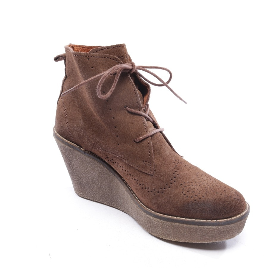 Ankle Boots von Marc O'Polo in Braun Gr. D 38