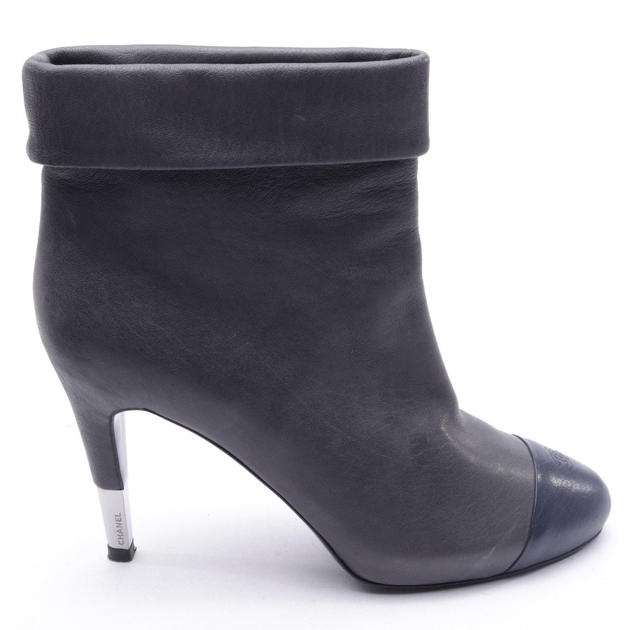 Ankle Boots from Chanel in Gray size 41 EUR