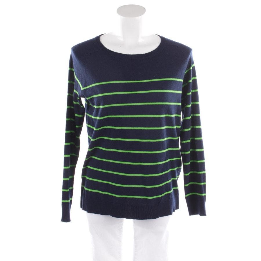 Strickpullover von Lauren Ralph Lauren in Dunkelblau und Grün Gr. S