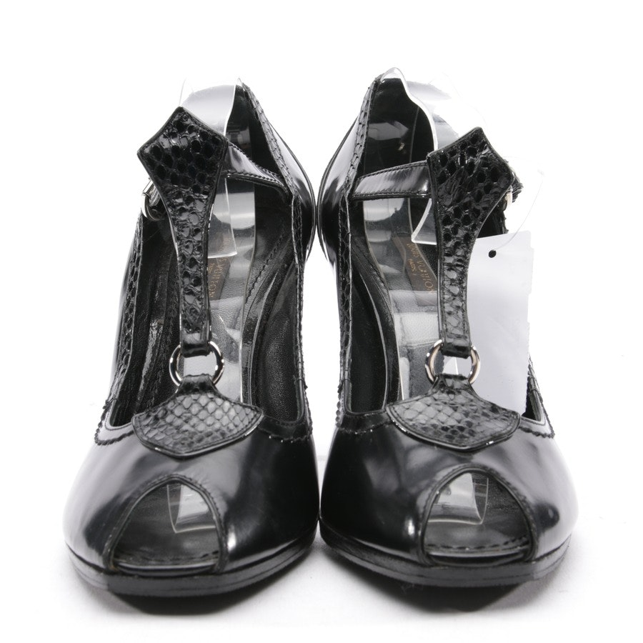 Peeptoes from Louis Vuitton in Black size 37 EUR