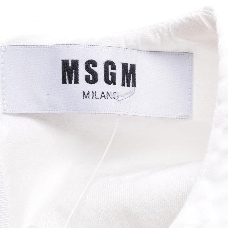 Top von MSGM in Weiß Gr. 34 IT 40