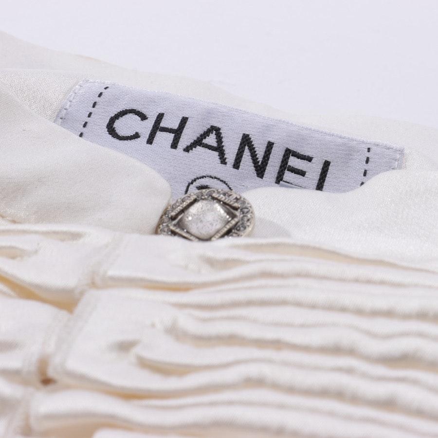Silk Top from Chanel in Beige size 40 FR 42