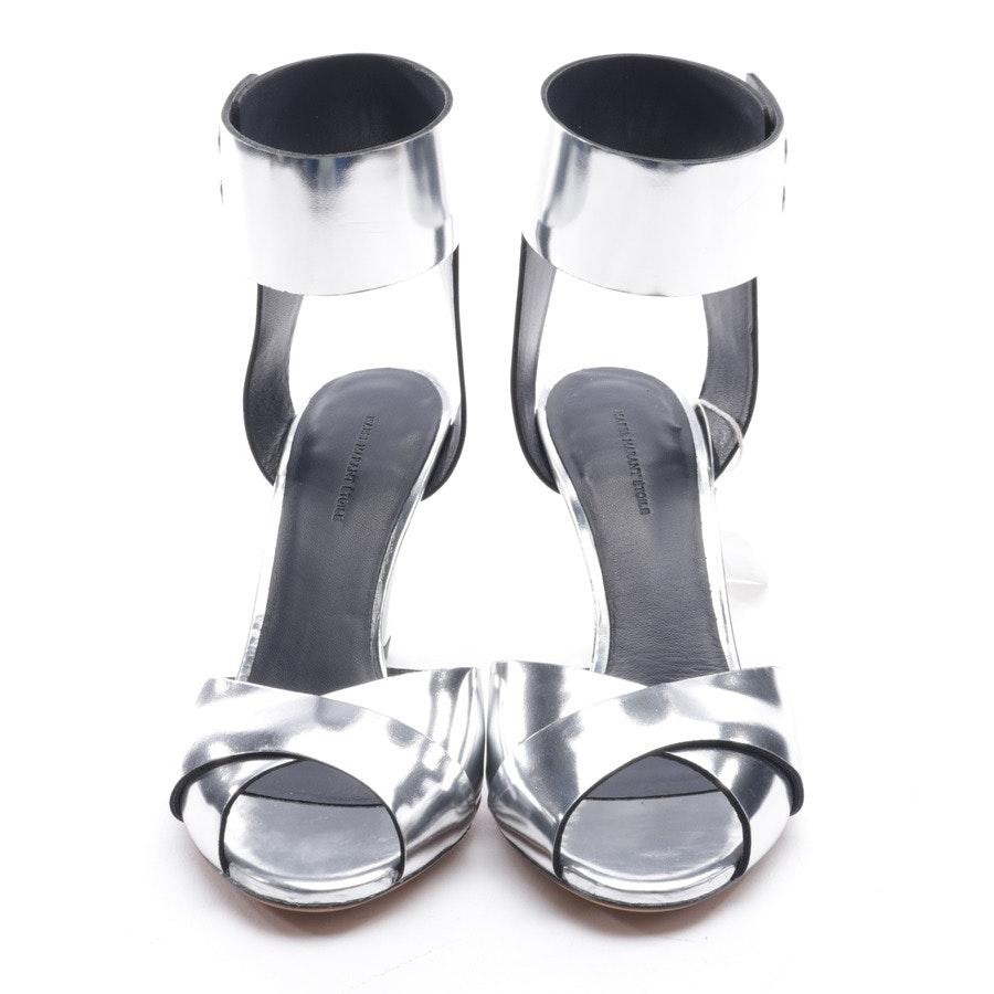Sandaletten von Isabel Marant in Silber Gr. D 37 - Meegan