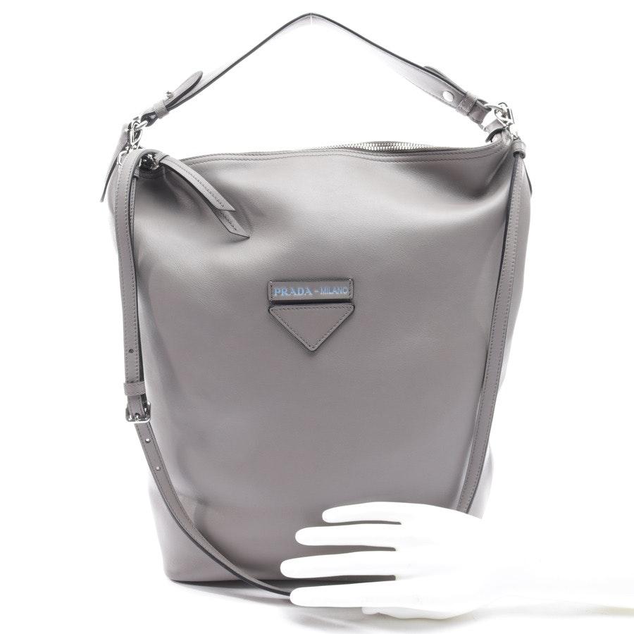 shoulder bag from Prada in gray