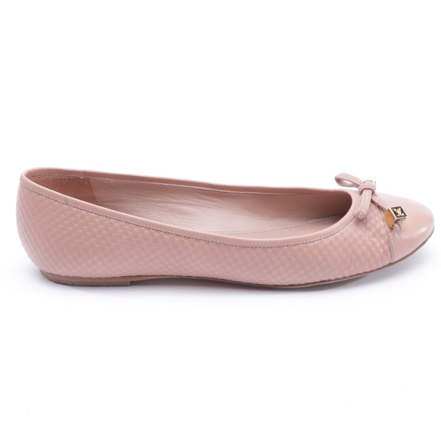 Ballet Flats from Louis Vuitton in Pink size 38,5 EUR MA 0123