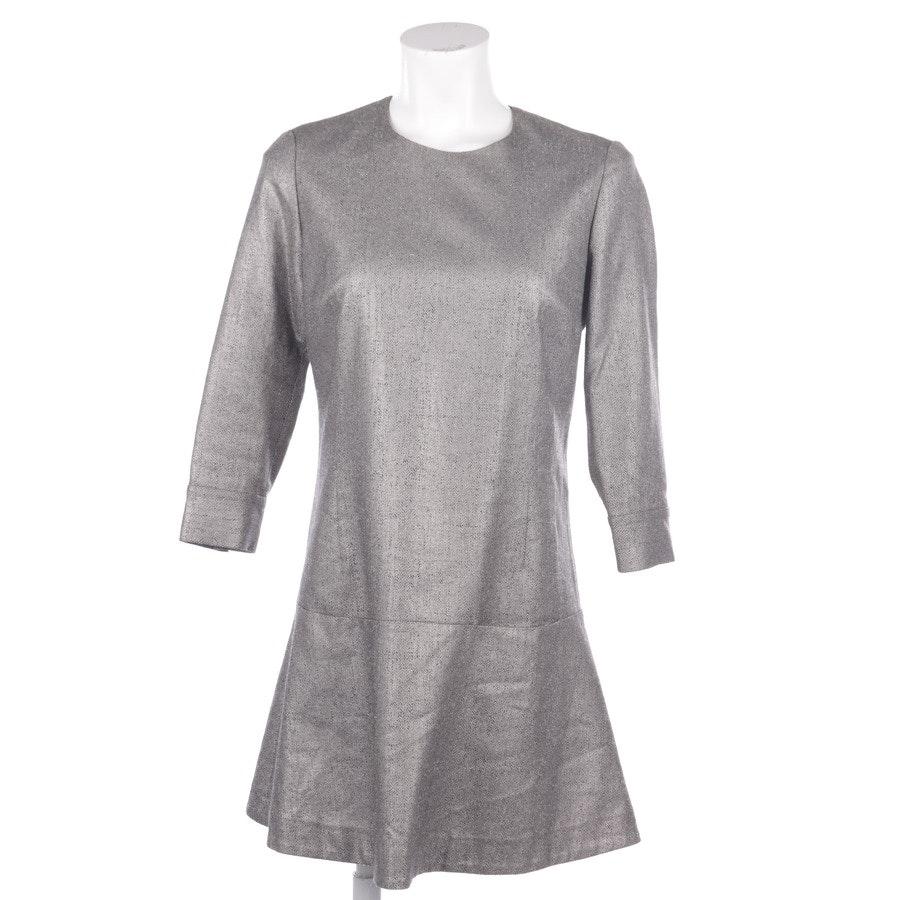 Kleid von Lala Berlin in Silber Gr. S