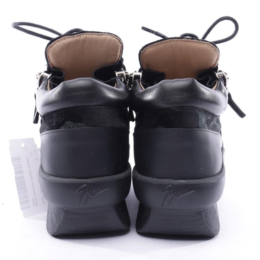 High-Top Sneakers von Giuseppe Zanotti in Schwarz und Grün Gr. 37 EUR Neu